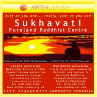 The real meaning of mindfulness in the Sukhavati, Amida London